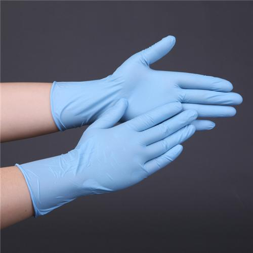 Dingqing gloves blue001