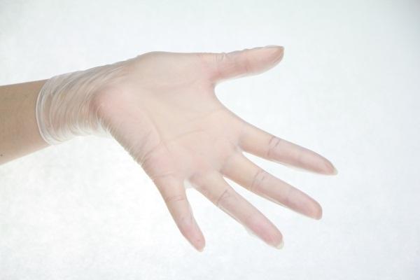 Ultra-fine cloth gloves