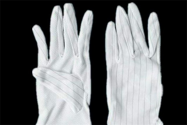 Anti - static striped bead gloves