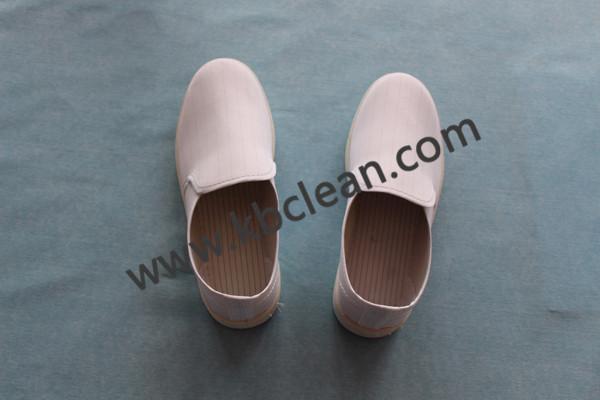 Stripe in towel shoes